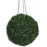 Hanging Boxwood Topiary Balls